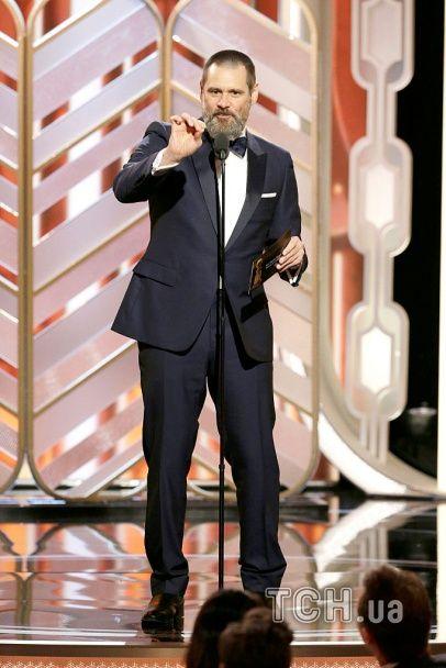 """""""Золотий глобус 2016"""": елегантна Леді Гага, бородатий Джим Керрі та розкішна Джей Ло"""