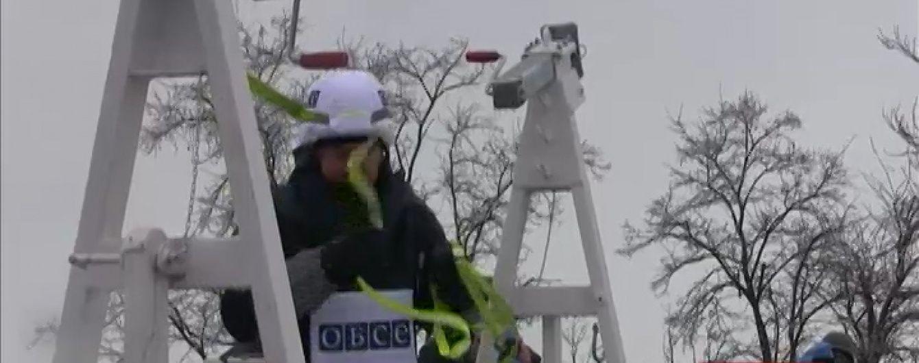 """ОБСЄ почала монтувати """"камери перемир'я"""" у Широкиному"""
