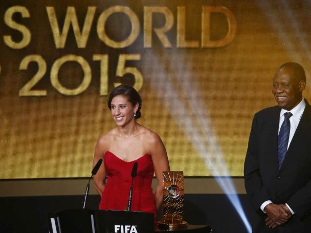 П'ятірка Мессі і Роналду-стайл: фото церемонії вручення Золотого м'яча 2015