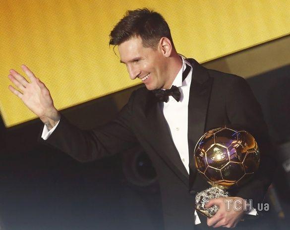 Золотий мяч 2015 церемонія_19, Мессі