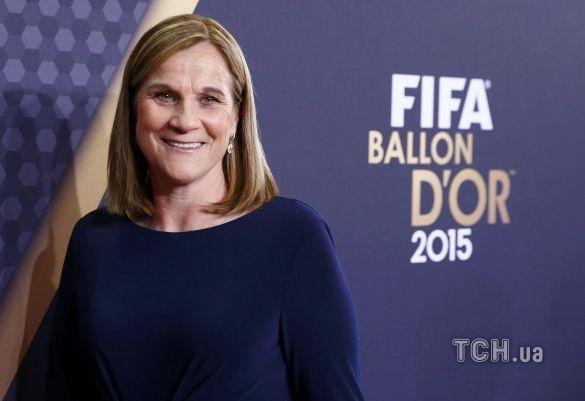 Золотий мяч 2015 церемонія_11, Джилл Елліс