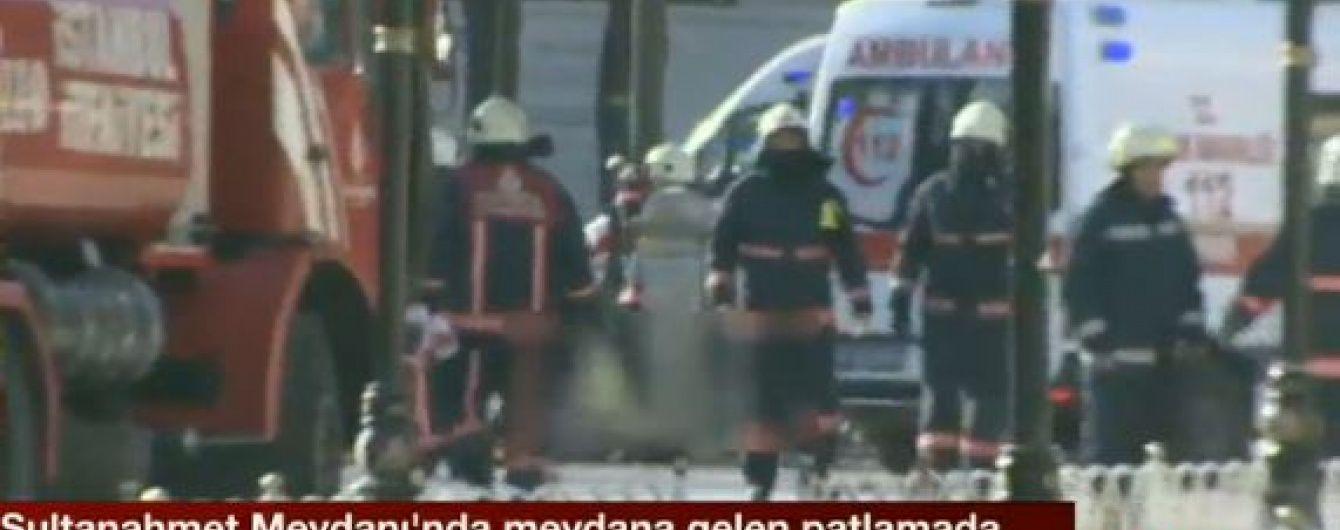 З'явилось відео з місця вибуху у Стамбулі