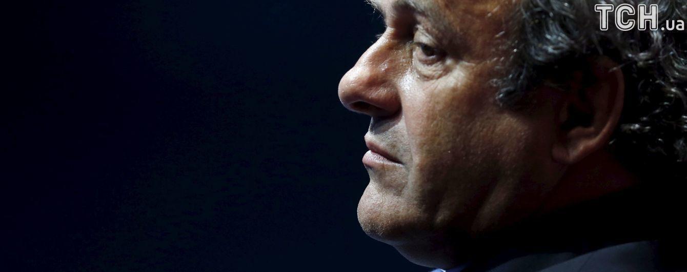 """Платіні подав апеляцію до ФІФА на рішення про восьмирічний """"бан"""""""