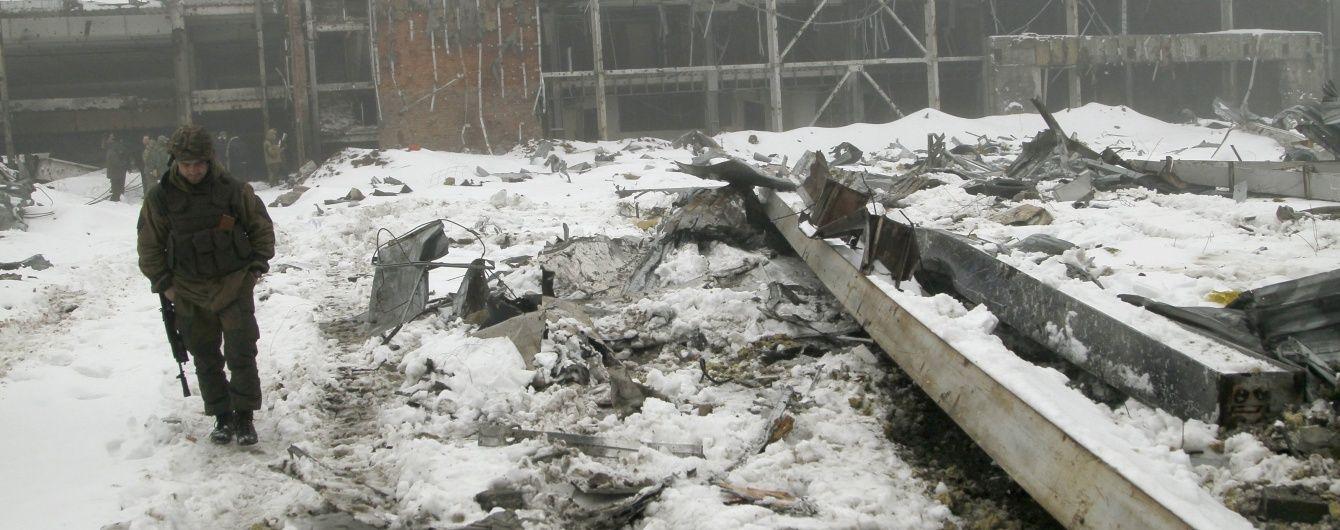 Бойовики інтенсивно поливали вогнем сили АТО біля Донецького аеропорту