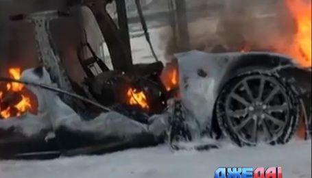 В Норвегии Tesla сгорела во время подзарядки