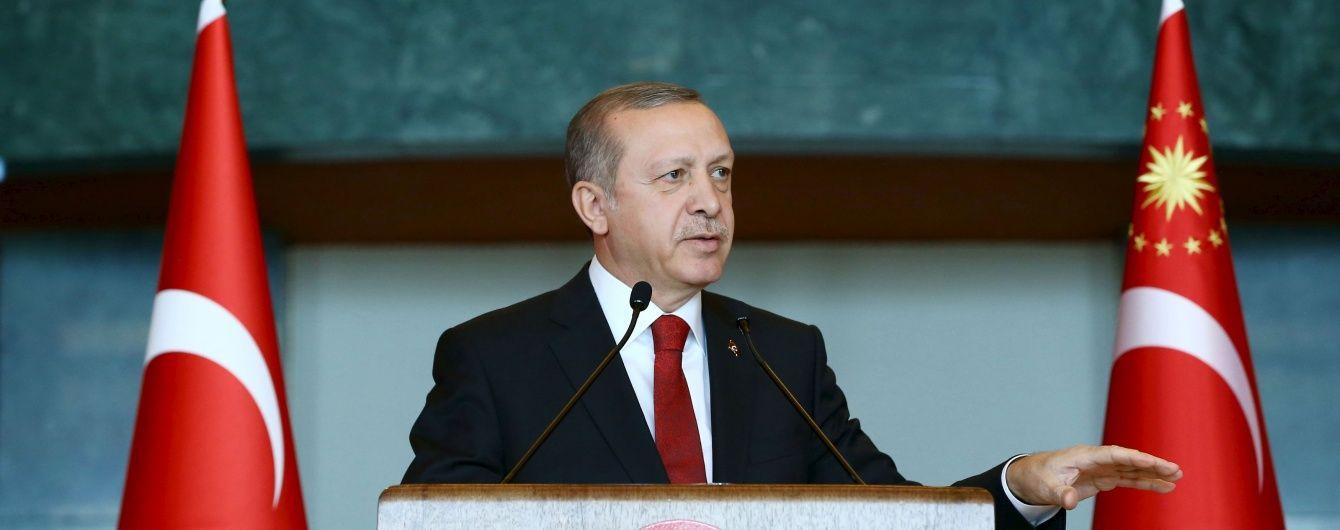 Ердоган погрожує втрутитися в сирійську ситуацію: терпіння Анкари може вичерпатися