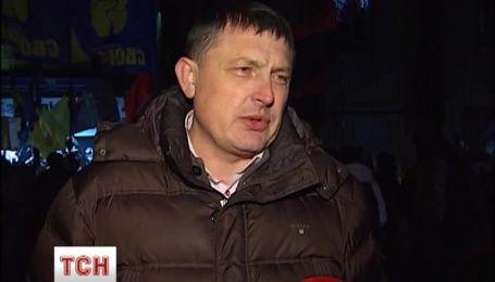 Под Лукьяновским СИЗО устроили митинг-концерт за свободу политзаключенных