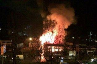 В Одесі палає фітнес-центр, в якому тренувалися поліцейські та учасники АТО