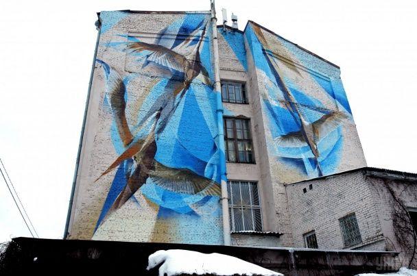 """Найяскравіші фото дня: """"льодовиковий період"""" у Нью-Йорку, новий мурал у Києві"""
