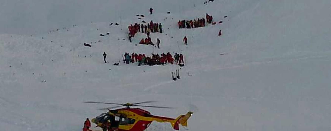 Зросла кількість загиблих унаслідок сходження лавини у французьких Альпах
