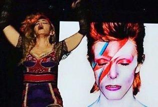 Він змінив моє життя: Мадонна вшанувала пам'ять Девіда Боуї зворушливою промовою
