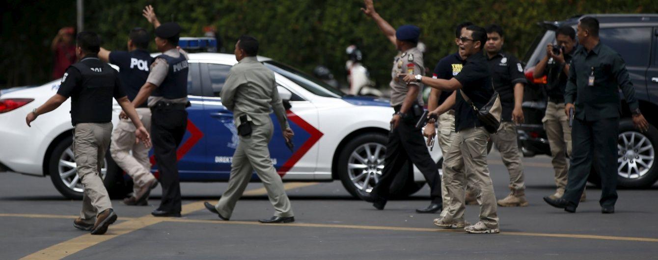 Індонезійська поліція заарештувала трьох осіб у справі про теракти в Джакарті