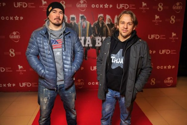 """Єгорова з сином, Еріка з бойфрендом першими оцінили """"зимовий вестерн"""" від Тарантіно"""