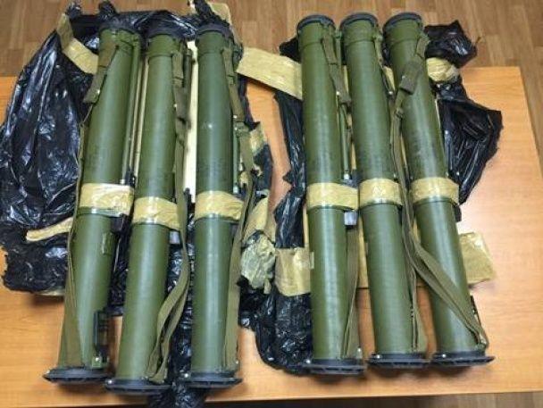 СБУ викрила шість сховищ з боєприпасами та зброєю на Дніпропетровщині