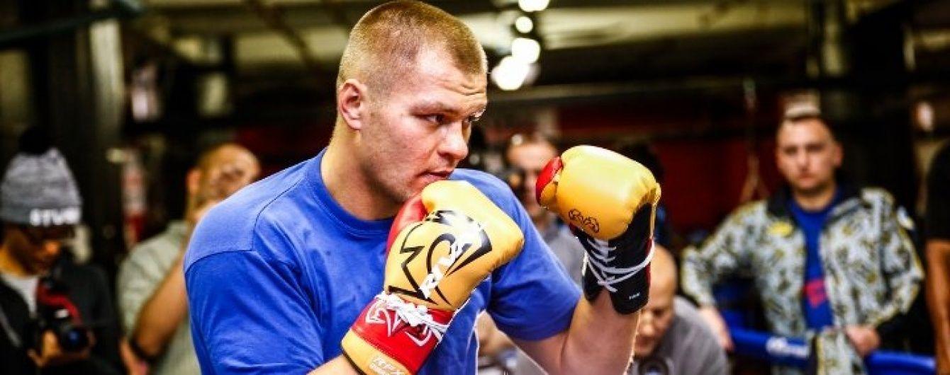 Український боксер Глазков розповів про травму, яка завадила здобути чемпіонський титул