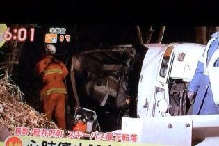 В Японії автобус з туристами впав у кювет, є загиблі