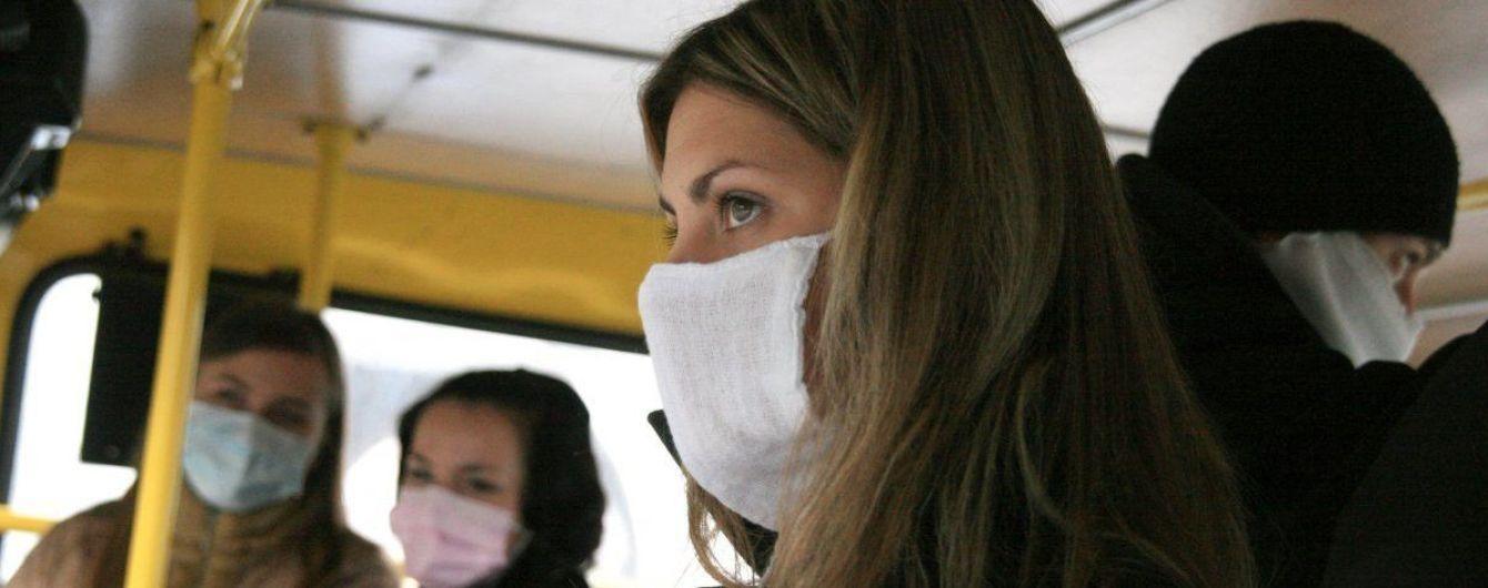 Как грипп расползается по Украине. Интерактивная карта