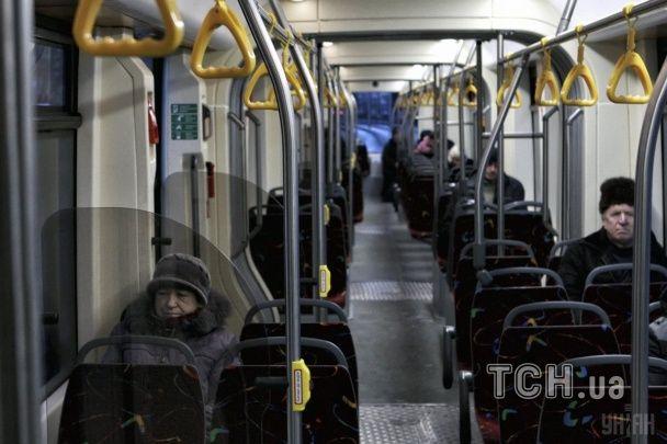 У Києві вийшов на маршрут сучасний трамвай львівського виробництва з опаленням і кондиціонером