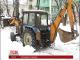Вантажівкам заборонено в'їзд до Києва через снігопад