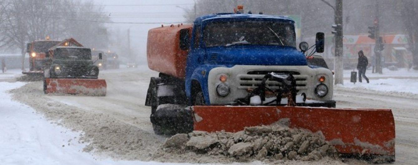 Трасу Одеса-Київ закрили через хуртовину