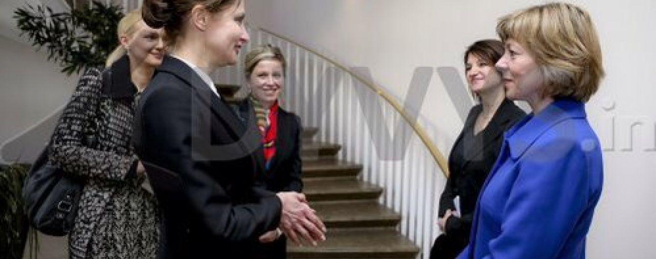 Марина Порошенко приймає в Києві першу леді Німеччини
