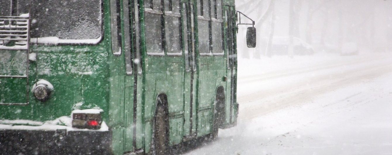 В Україні без світла через снігову негоду залишаються 150 населених пунктів
