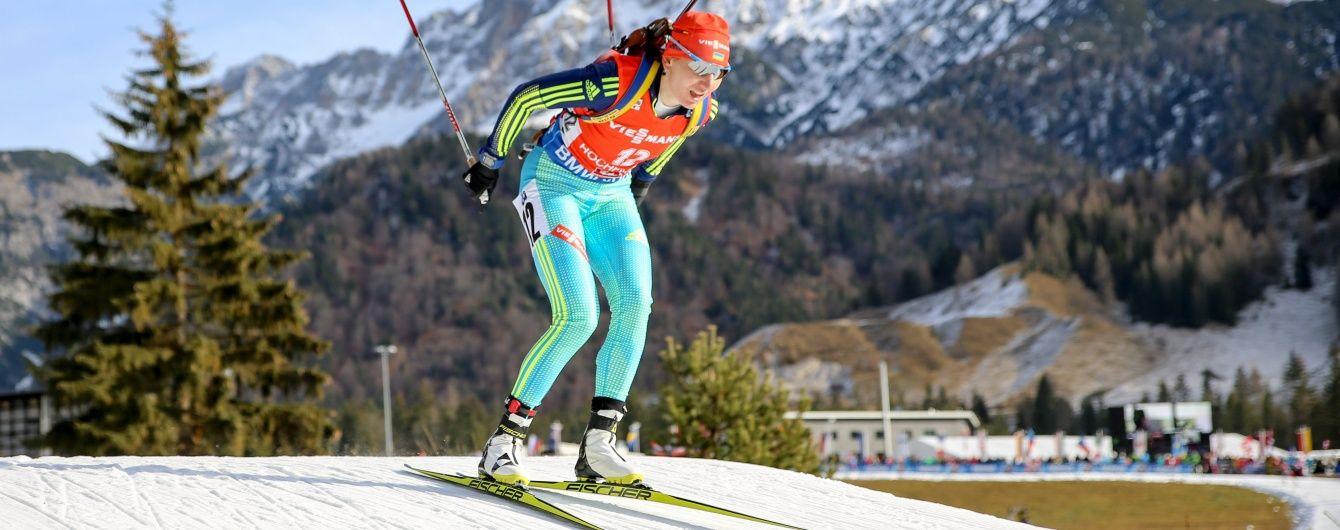 """Українські біатлоністки виграли """"золото"""" естафети на Кубку світу в Німеччині"""