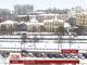 На Дніпропетровщині паралізований аеропорт, а пасажирський автобус у сніговій пастці