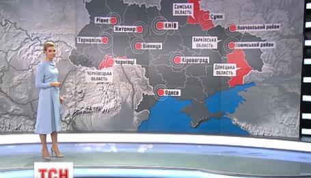 Половина Украины на вынужденных каникулах