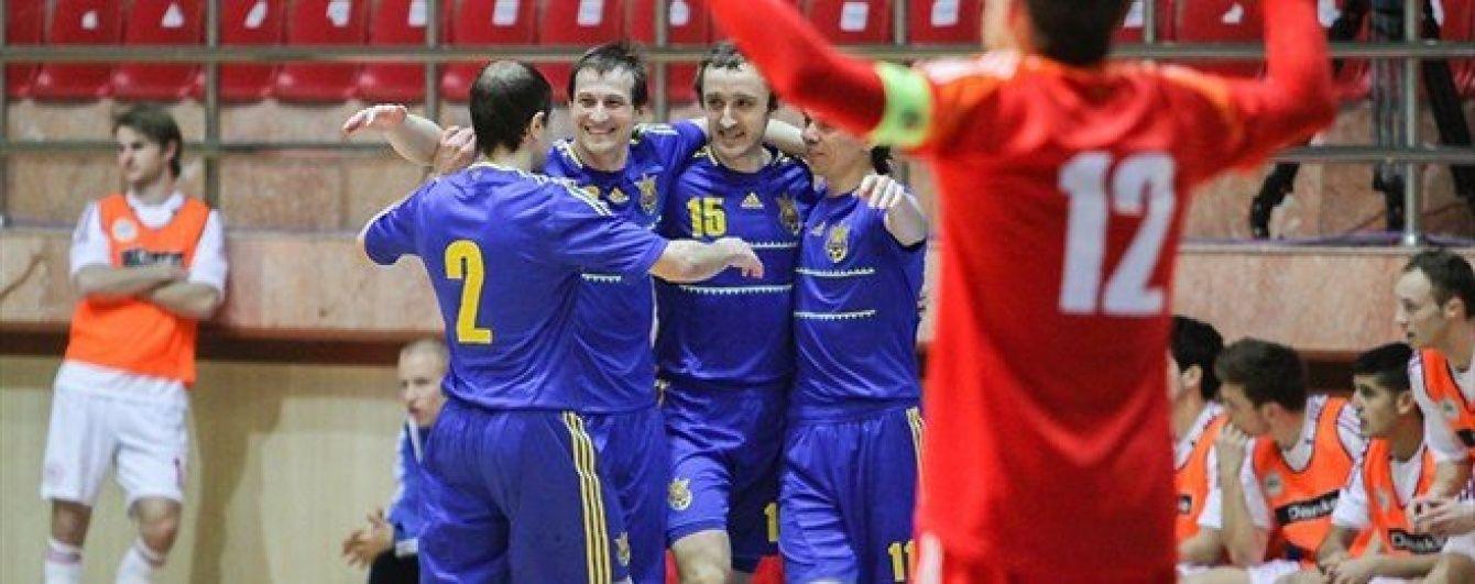 Збірна України стартує на футзальному Євро-2016
