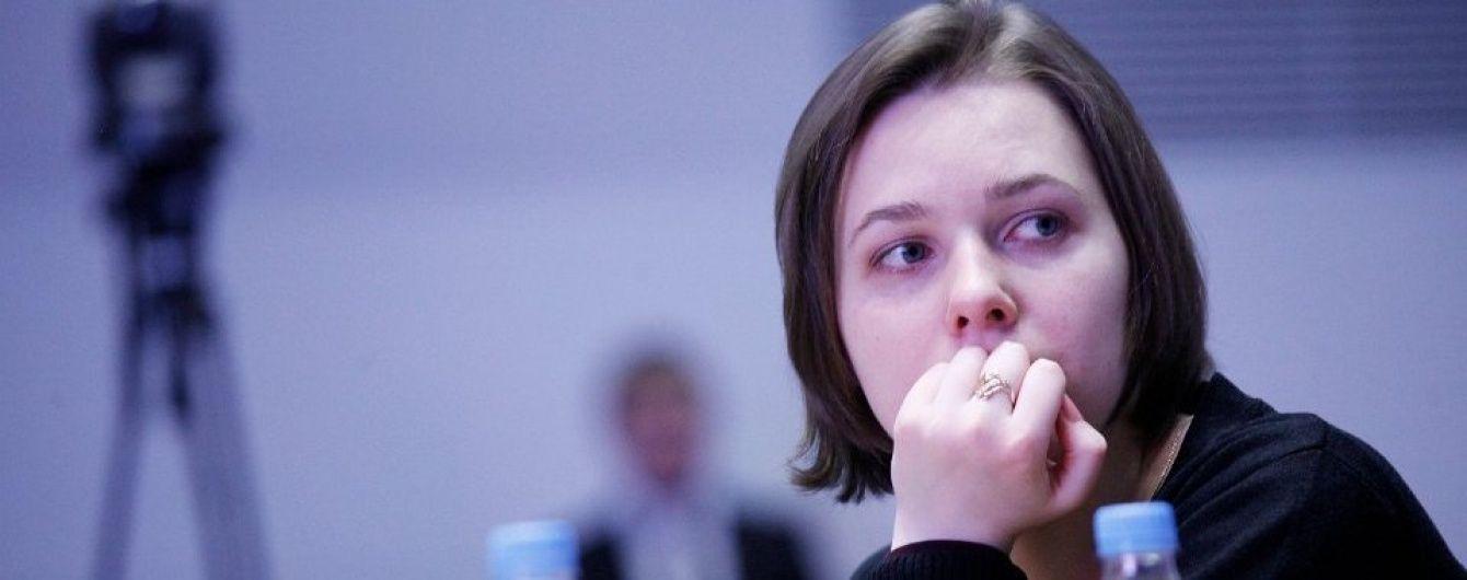 Українка Музичук звела внічию п'ятий матч партії за світову шахову корону