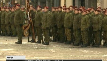 В Литве отмечают 25 годовщину создания Добровольческих сил