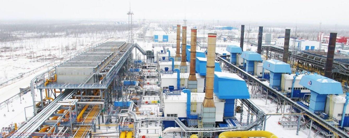 """""""Газпром"""" назвав ціну газу для Європи у першому кварталі року"""