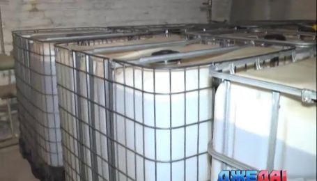 В Белой Церкви нашли подпольный склад горюче-смазочных материалов