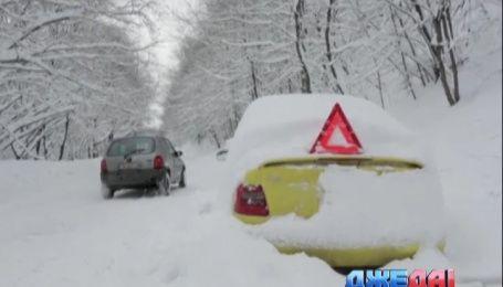 На Балканах снегопады накрыли Болгарию и Румынию