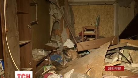 В городе Украинск местные власти не предоставляют помощи жителям разрушенных взрывом квартир