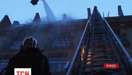 """В центре Парижа почти десять часов пылал фешенебельный отель """"Ритц"""""""