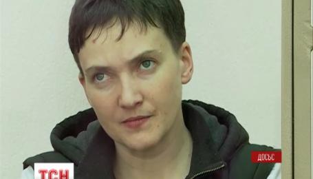 Українській льотчиці Надії Савченко прокапали глюкозу