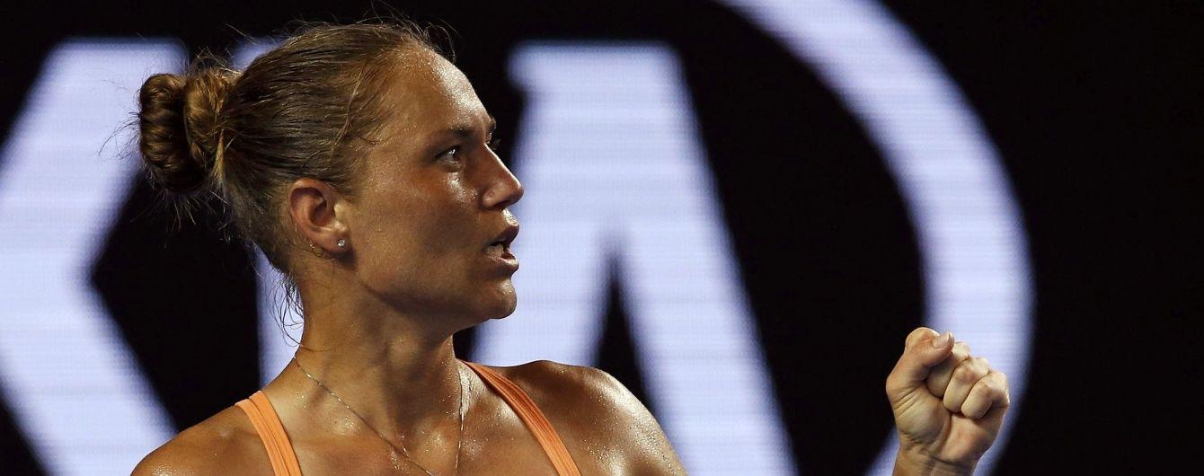 Українка Бондаренко переграла імениту росіянку у другому колі Australian Open