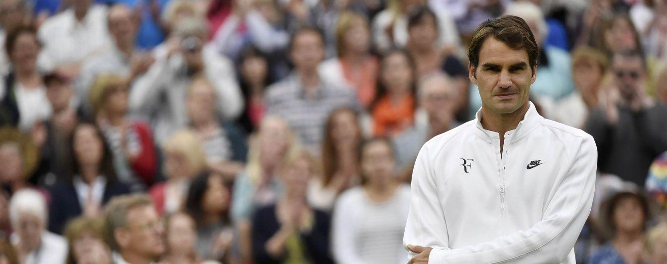 Легендарний Федерер назвав себе шанувальником Долгополова
