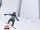 Київський сноубордист спустився зі схилу біля столичного фунікулера