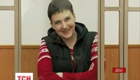 Надія Савченко перейде на сухе голодування після оголошення вироку