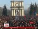 Масові антиурядові протести тривають у Молдові