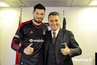 """Бойко зустрівся із президентом """"Бешикташа"""" і хоче вивчити турецьку мову"""