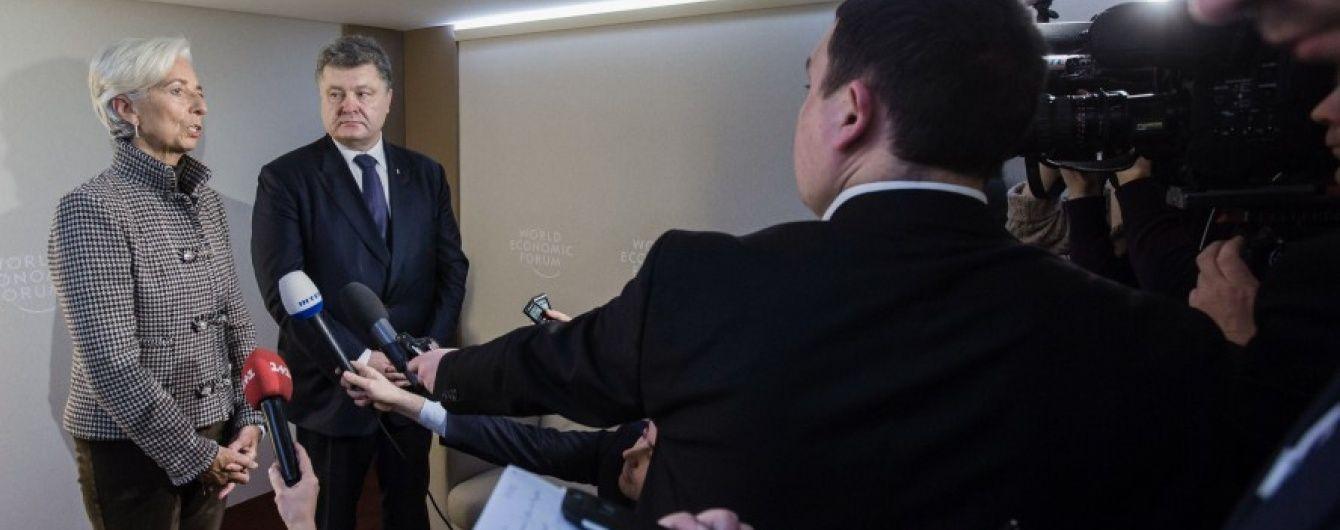 Наступний транш від МВФ Україна очікує у лютому – Порошенко