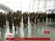 """В аеропорту """"Бориспіль"""" для """"кіборгів"""" грав оркестр"""