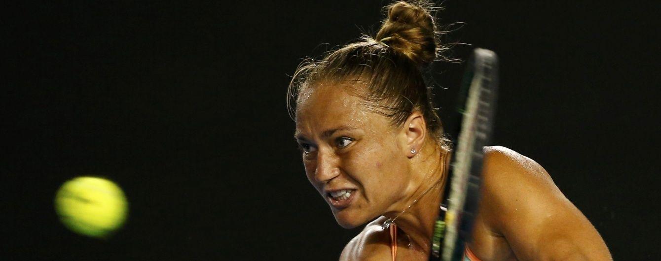 Australian Open залишила остання українська тенісистка