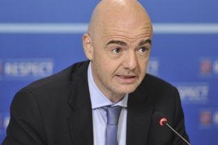 Кандидат на пост боса ФІФА отримає півмільйона євро від УЄФА