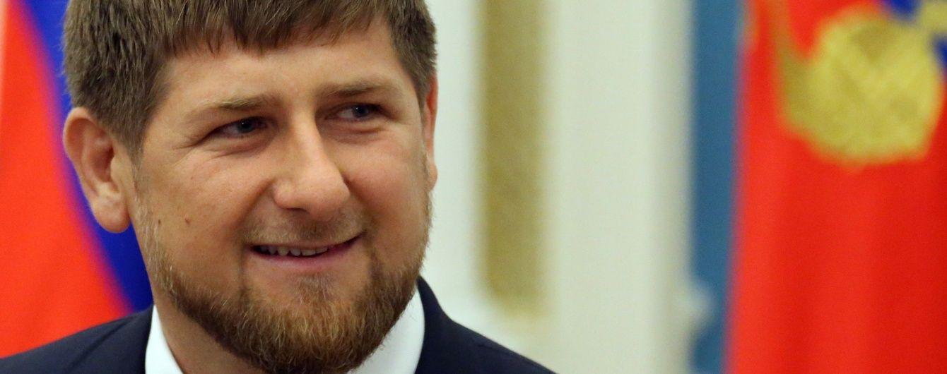 У Кремлі вперше прокоментували скандальні висловлювання Кадирова про опозицію