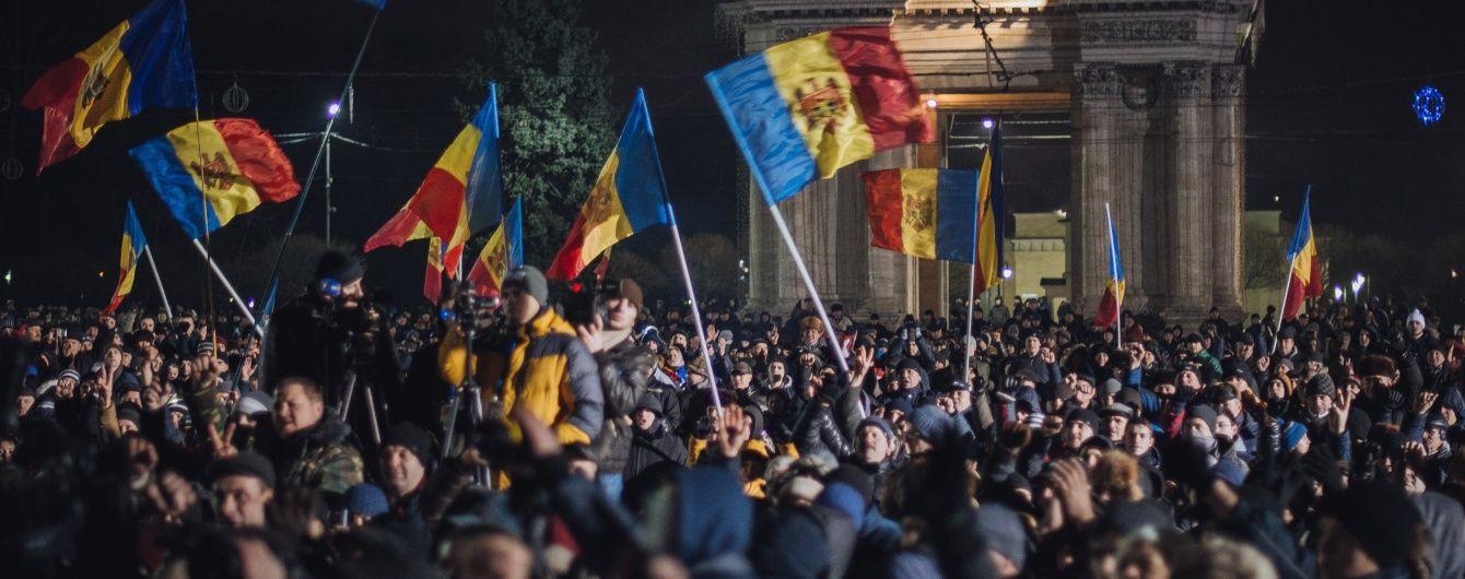 Протесты в Молдове: рука Кремля снова в деле
